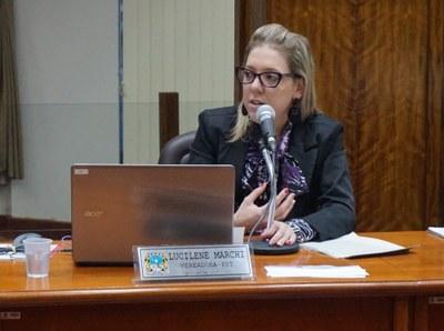 Vereadora Lucilene Marchi
