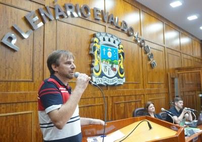 Jurandir Bondan, vereador suplente