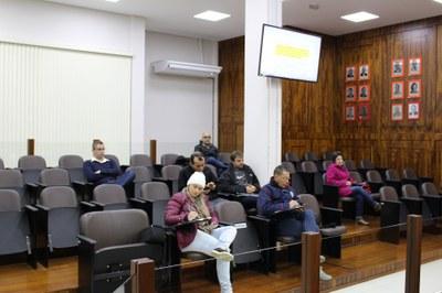 Público presente na sessão
