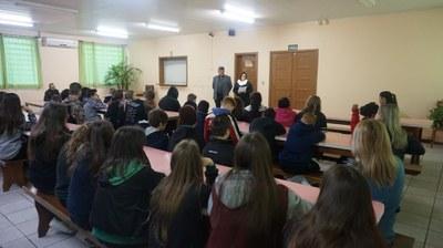 Visita Escola Prefeito José Chies