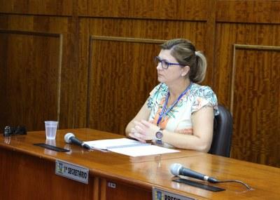 Diretora de Controle Fazendário, Janete Belleboni Taufer
