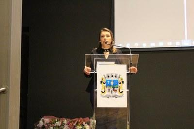 Secretária Jéssica Dalcin Andrioli