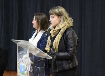 aluna Laura Zanuz Facchini