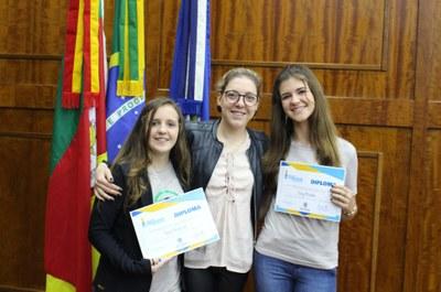 Vereadoras da Escola Cardeal Arcoverde