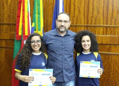 Vereadoras da Escola São Roque