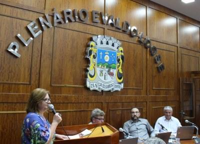 Vereadora Maria Rosalia