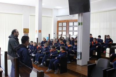 21.08.2019 Visita 4º ano Colégio Santa Rosa