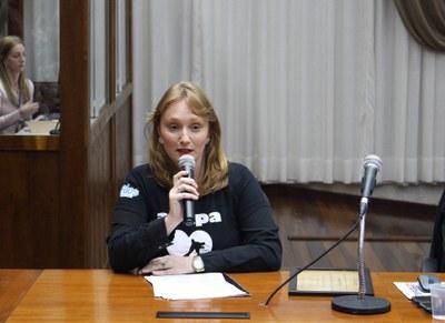 Luana Tenedini, Presidente da ABAPA