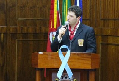 Homenageado Jonas Viccari
