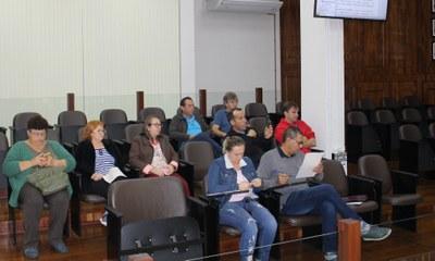 Público presente na sessão Maio/2019