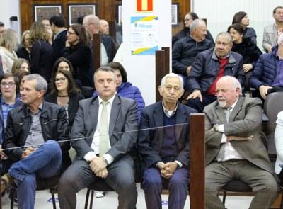 Ex-prefeitos e Prefeito Evandro Zibetti