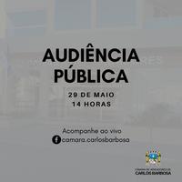 Audiência Pública com participação online do público