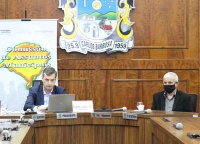 Audiência Pública da Comissão de Assuntos Municipais da Assembleia Legislativa ocorreu no Plenário Evaldo Loose