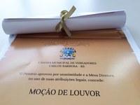 Moção de Louvor a Paullo Costa e Olavo Loreto